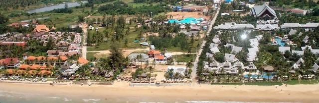 Mai Khaolak Beach Resort Spa Baustelle