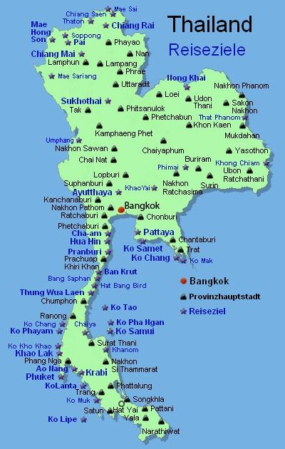 Thailand Inseln Karte.Thailand Karte Inseln Süden Hanzeontwerpfabriek