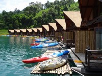 500 Rai Raft House - Accommodation